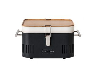 Everdure by Heston Blumenthal CUBE Charcoal Portable Barbeque - Graphite