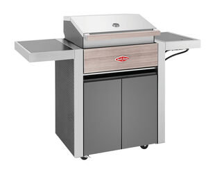 BeefEater 1500 Series - 3 Burner BBQ With Side Burner