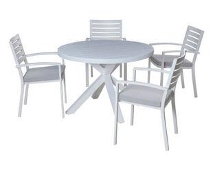 Boston-Jette 5 Piece Slatted Dining (White)