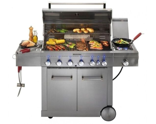 KitchenAid 6 Burner BBQ, , hi-res image number null