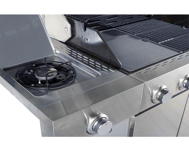 Alfresco 4 Burner BBQ with Side Burner, , hi-res image number null