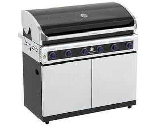 Premium Beefmaster 6 Burner BBQ on Deluxe Cart