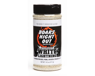 Boars Night Out White Lightning Jar