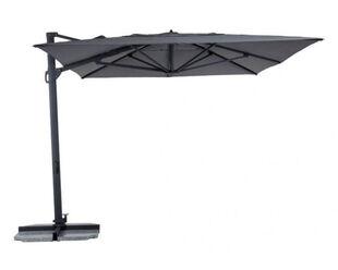 Balmoral 3 x 4m Cantilever Umbrella Charcoal