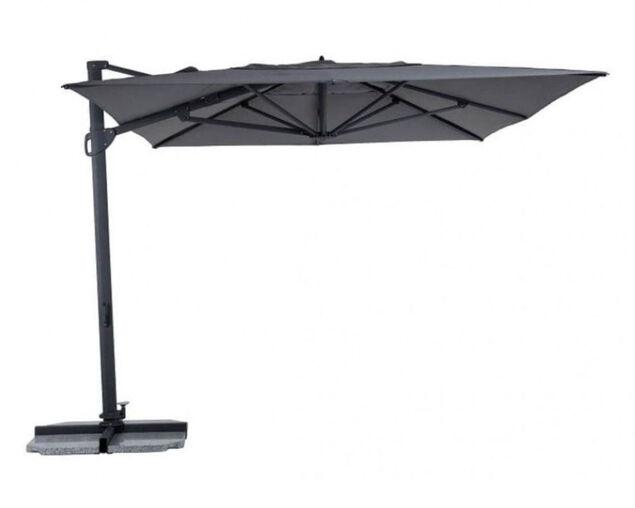 Balmoral 3 x 4m Cantilever Umbrella Charcoal, , hi-res image number null
