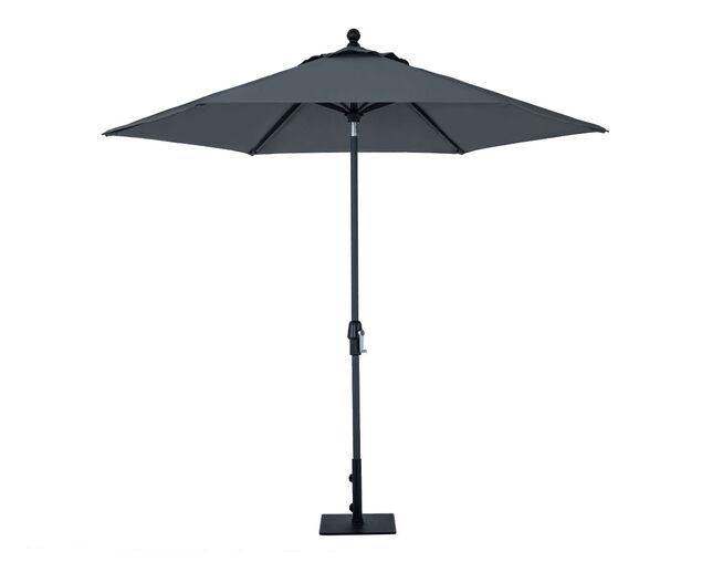 Monaco 2.7m Market Umbrella Charcoal, , hi-res image number null