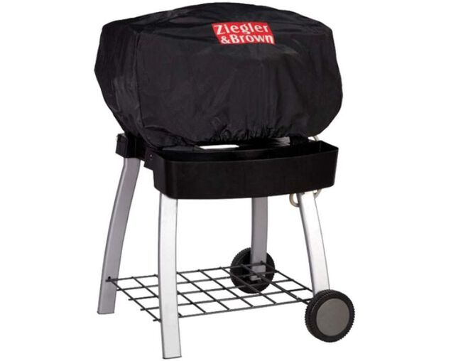 Ziegler & Brown Twin Grill BBQ Cover - BBQ Only, , hi-res image number null