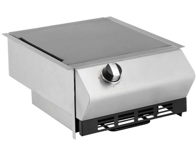 Ziegler & Brown Turbo Classic Drop-In Build-In Side Burner, , hi-res image number null