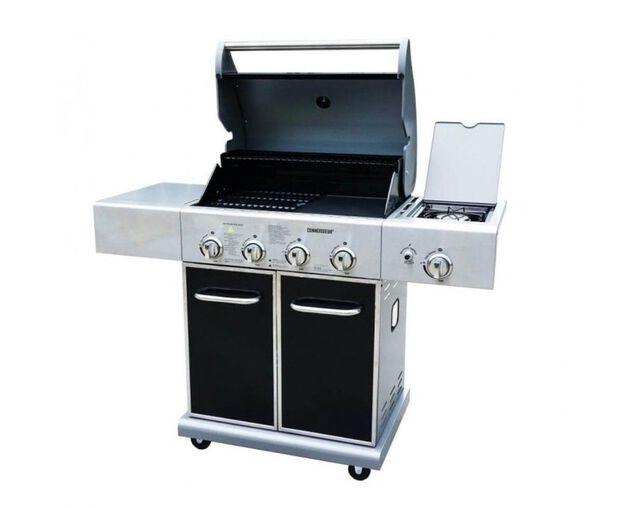 Connoisseur 4 Burner BBQ With Side Burner, , hi-res image number null