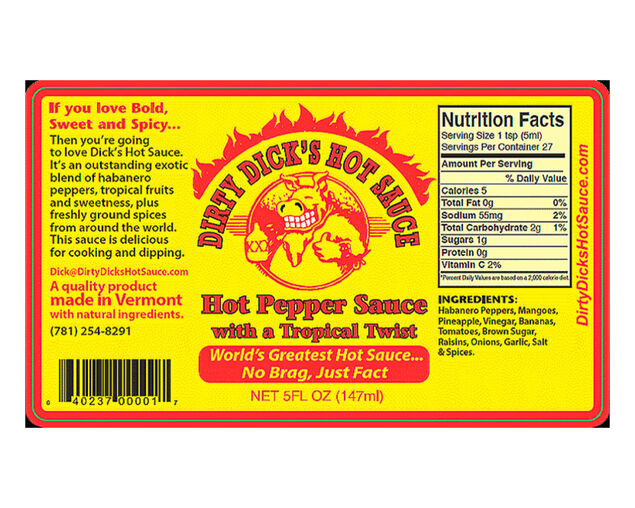 DD's Hot Pepper Sauce With a Tropical Twist 147g, , hi-res image number null