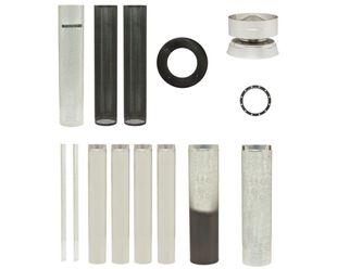 Maxiheat Decromesh Flue Kit - Metallic Black