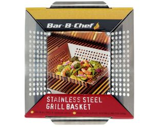 Pro Grill Stainless Steel Vege Grill Basket