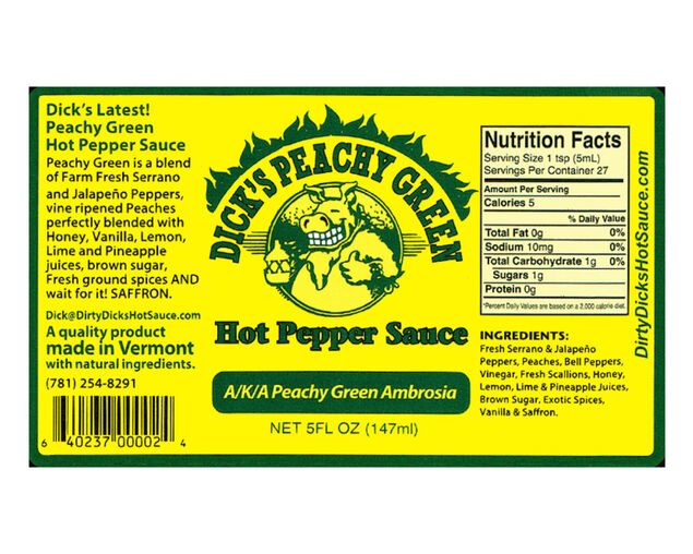 DD's Peachy Green Sauce 147g, , hi-res image number null