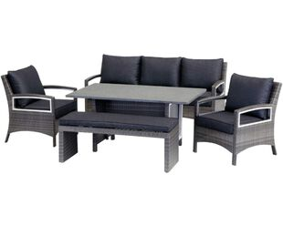 Contempo 5 Piece Low Dining Setting