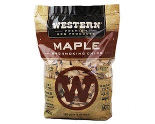 Western Premium Smoking Chips - Maple