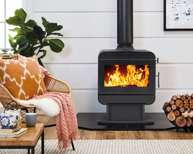 Austwood Cooper Freestanding Wood Heater, , hi-res image number null