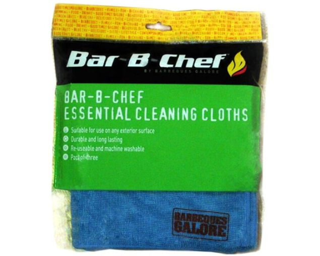 Bar-B-Chef Essential Cleaning Cloths, , hi-res image number null