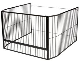 Maxiheat Large Freestanding Child Guard with Gate