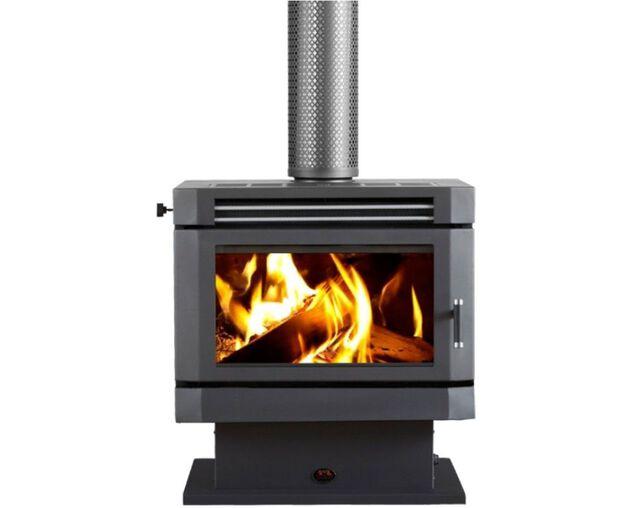 Saxon Mahogany Freestanding Wood Heater, , hi-res image number null