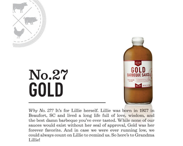 Lillie's Q Gold BBQ Sauce 567g, , hi-res image number null