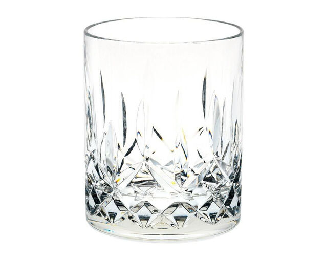 D-Still Unbreakable Polycarbonate Diamond Cut Old Fashion Glass 295ml - 4 Pack, , hi-res image number null
