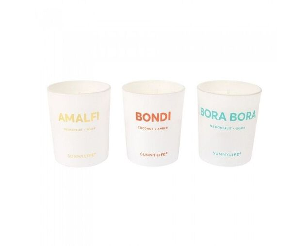 Sunnylife Scented Candle - 3 Pack, , hi-res image number null