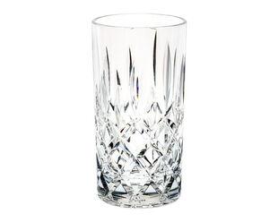D-Still Diamond Cut Highball Glass 415ml - 4 Pack