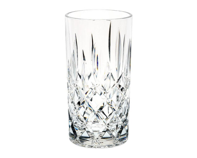D-Still Unbreakable Polycarbonate Diamond Cut Highball Glass 415ml - 4 Pack, , hi-res image number null
