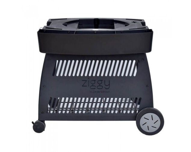 Ziegler & Brown Triple Grill Classic Mobile Cart , , hi-res image number null