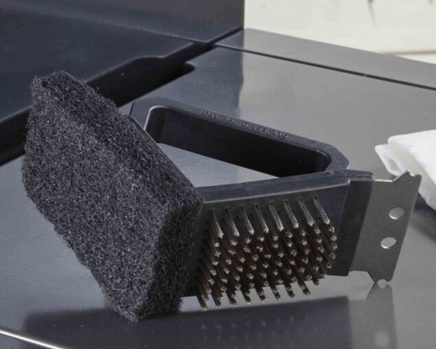 Pro Grill Dual Grill Brush, , hi-res image number null