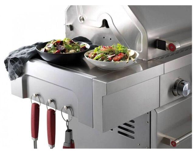 KitchenAid 4 Burner LPG BBQ with Side Burner, , hi-res image number null