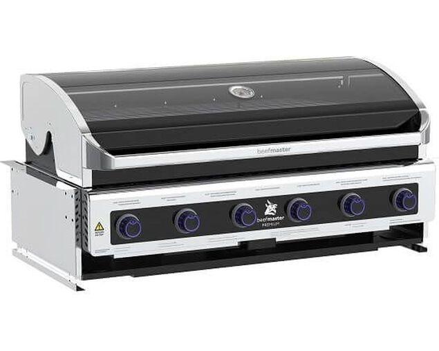 Premium Beefmaster 6 Burner Build-In BBQ, , hi-res image number null