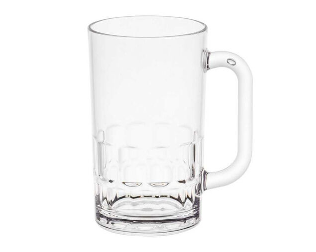 D-Still Unbreakable Polycarbonate Beer Mug 405ml - 4 Pack, , hi-res image number null
