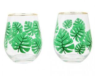 Sunnylife Stemless Cocktail Glasses Monteverde 2 Pack