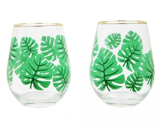 Sunnylife Stemless Cocktail Glasses Monteverde 2 Pack, , hi-res image number null