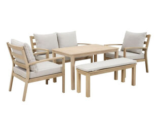 Harper 5 Piece Low Dining Setting