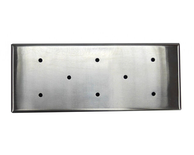 Pro Smoke Stainless Steel Smoker Box with Lid, , hi-res image number null