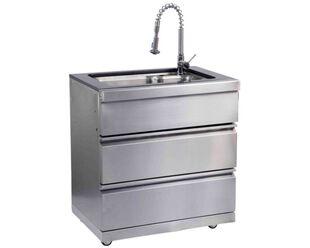 Ziegler & Brown Grand Turbo Sink Module with Gold Fleck Granite Top