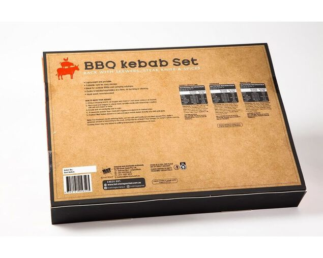 Grill Society Kebab & Seasoning Set, , hi-res image number null