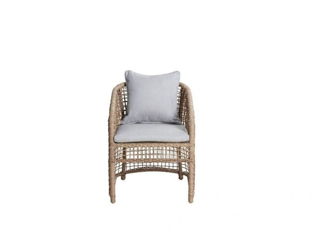 Icaria Open Wicker Dining Chair, , hi-res image number null
