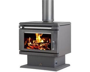 Saxon Blackwood Freestanding Wood Heater