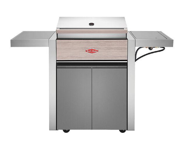 BeefEater 1500 Series - 3 Burner BBQ With Side Burner, , hi-res image number null