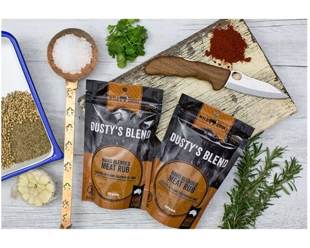 Wyld Smoke Dustys Blend Rub 150G, , hi-res image number null