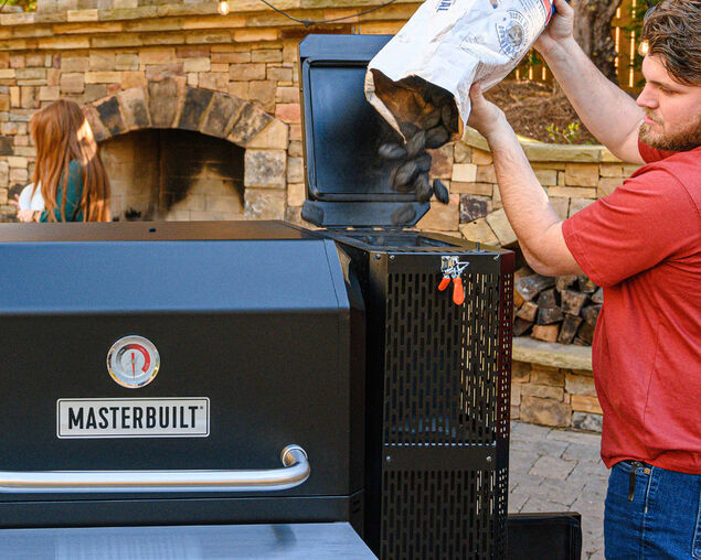 Masterbuilt Gravity Fed 1050 Charcoal Smoker & Grill, , hi-res image number null