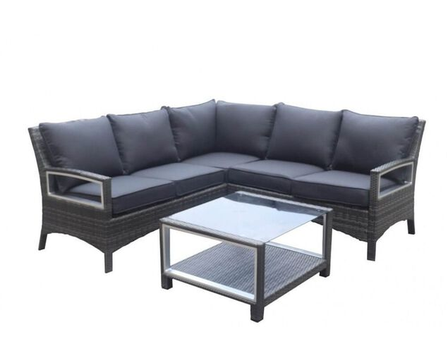 Contempo 3 Piece Modular Lounge Setting, , hi-res image number null