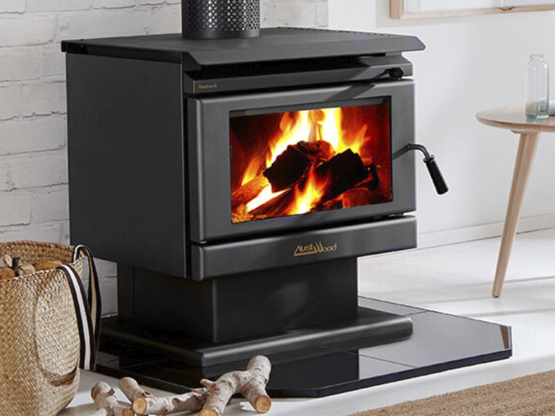 Wood Heating Hearth Clearance Dimensions